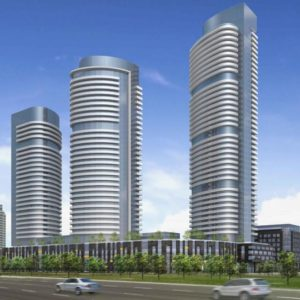 Valhalla Town Square Valhalla Town Square is a major mixed-use development by Edilcan at 2 Gibbs Road in Etobicoke containing office, retail, condos, townhomes, and rental residential surrounding a green town square.