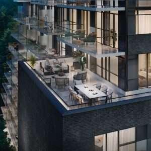 The Brix Condos - Terrace