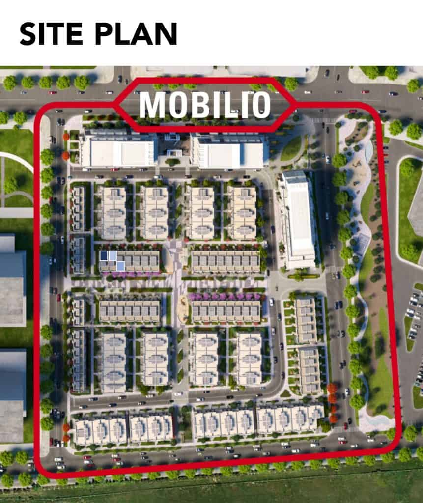 Mobilio 3 Storey Townhome