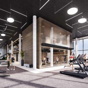 Interior Wellness Gym