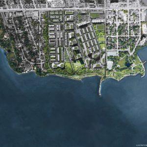 Brightwater Towns Aerial Rendering