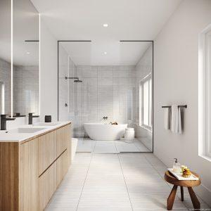 Brightwater Towns Ensuite Bathroom