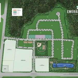 Emerald Crossing Site Map