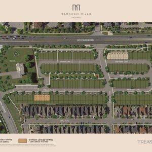 Markham Mills Siteplan