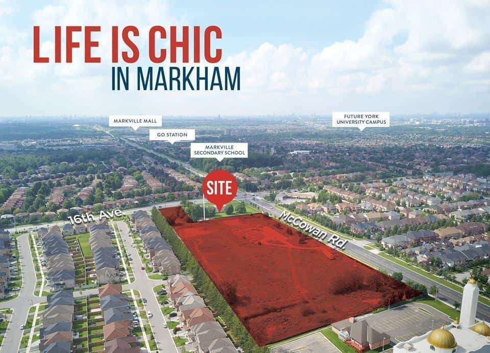 Markham Mills Towns