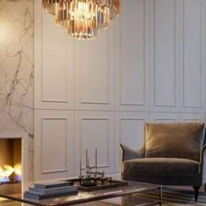The Heights of Harmony Home Interiors with Fireplace and Seating Area
