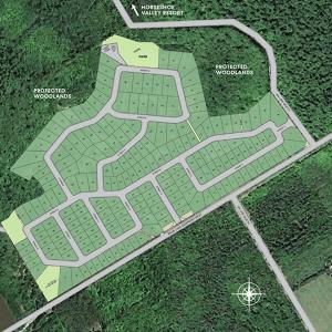 Eagles Rest Estates Site Map