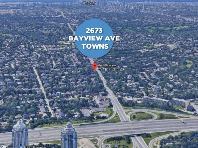 2673 Bayview Avenue Towns