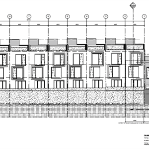 41 Wabash East Elevation