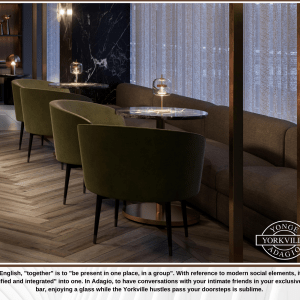 Adagio Bar Lounge - A Place for Gathering