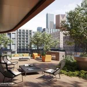 The Whitfield Condos Outdoor Terrace