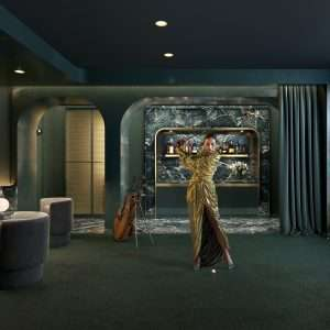 The Capitol Residences Golf Simulator and Parlour