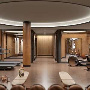 The Capitol Residences Gym