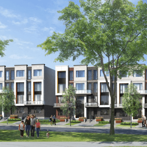 The Reserve at Downsview Park Towns Exterior