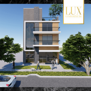 Lux Condominiums Front