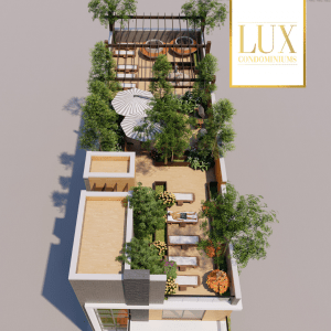 Lux Condominiums Roof