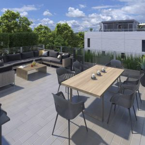 One Place Gardens Rooftop Terrace