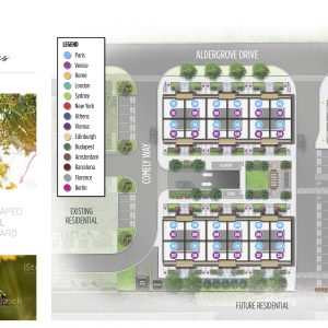 One Place Gardens Site Plan