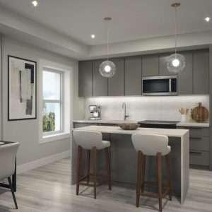 Westvale at Lackner Ridge Suite Kitchen
