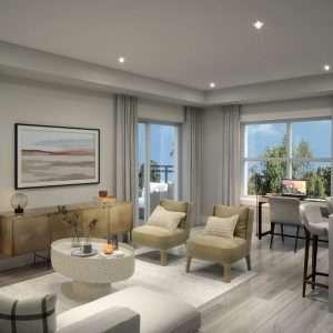 Westvale at Lackner Ridge Suite Living Room