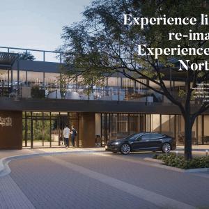 North Oak - Entrance