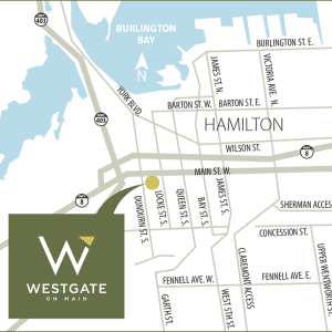 Westgate on Main Map
