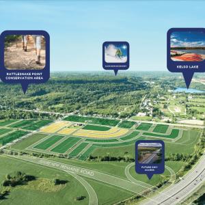 Panorama Aerial Site Plan
