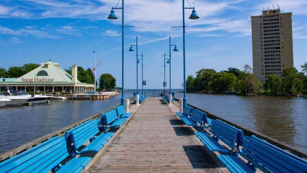 View of Port Credit's Pier